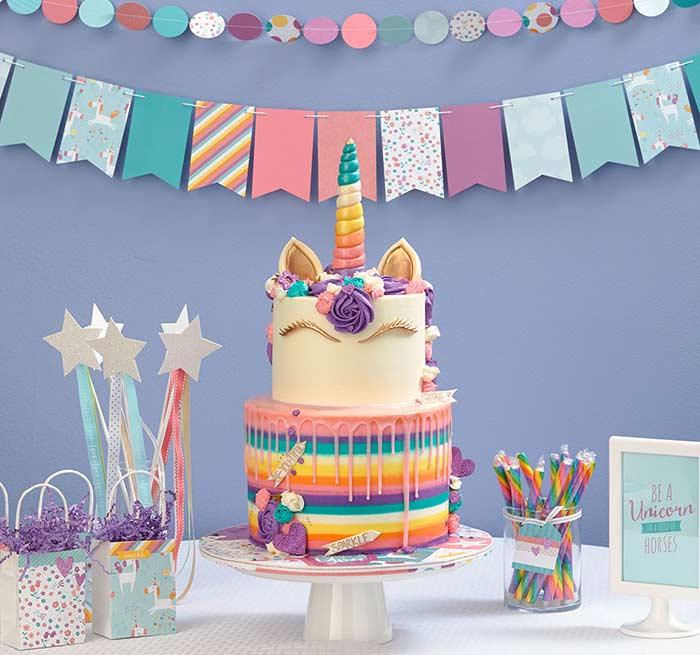 Festa unicórnio: inspirações mágicas para decorar uma festa com o tema