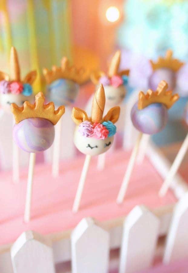 Mais detalhes dos cakepops