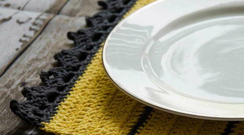 Jogo americano de crochê: 50 ideias para incrementar a sua mesa