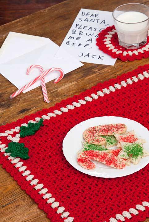 No clima natalino para deixar esta festa ainda mais temática e divertida na mesa.