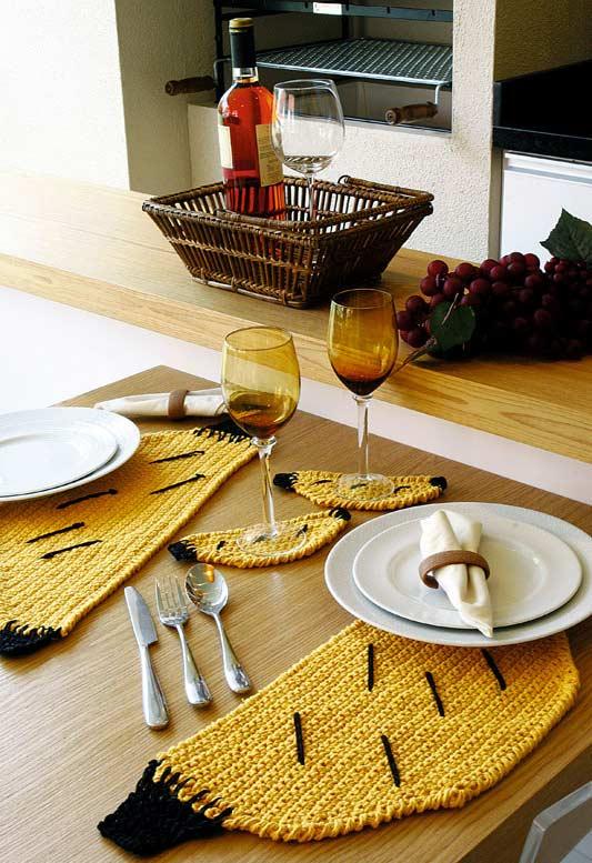 Aposte em um formato divertido para as suas refeições na varanda gourmet