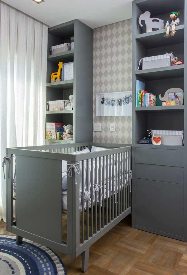 Tons neutros no quarto de bebê