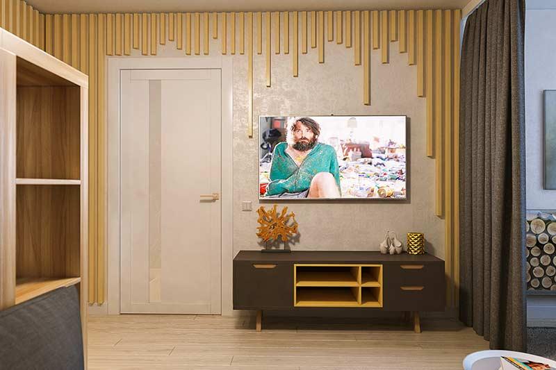 Ripas desproporcionais nas paredes