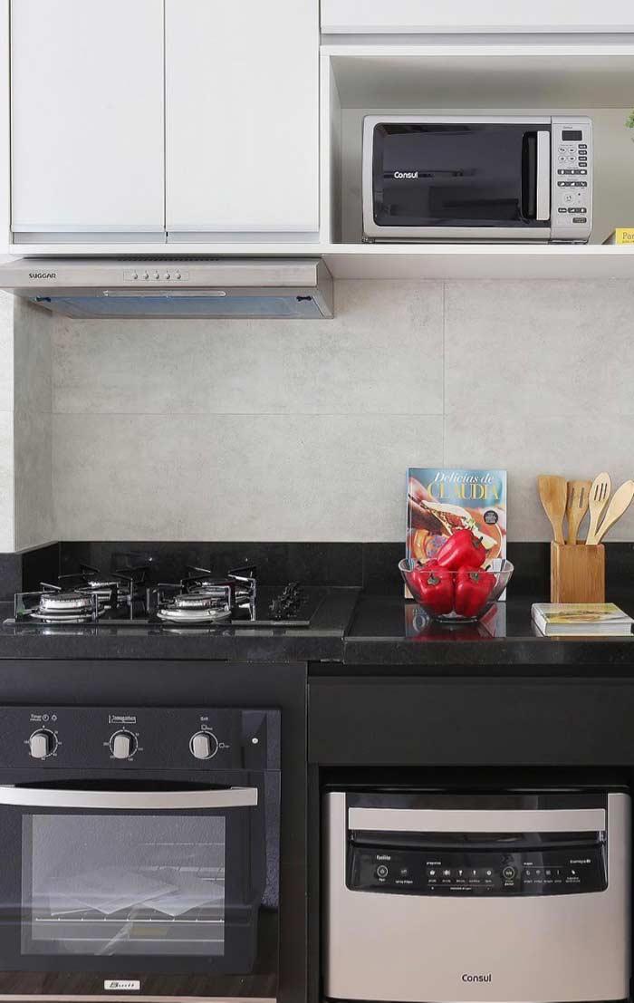 Solução simples para a decoração da cozinha