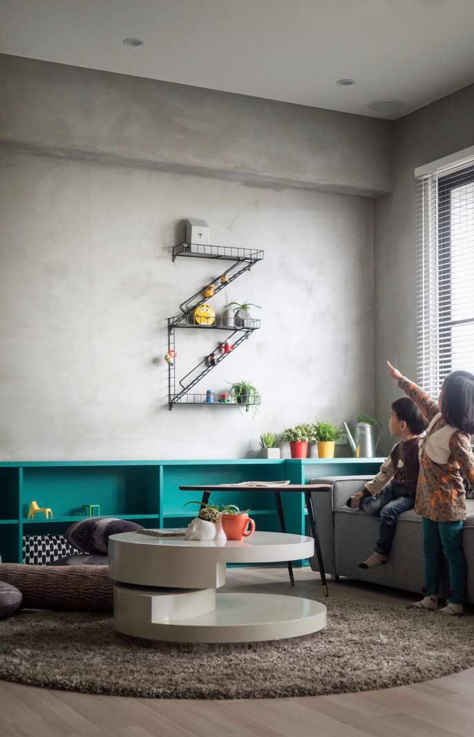 Contraste com elementos decorativos