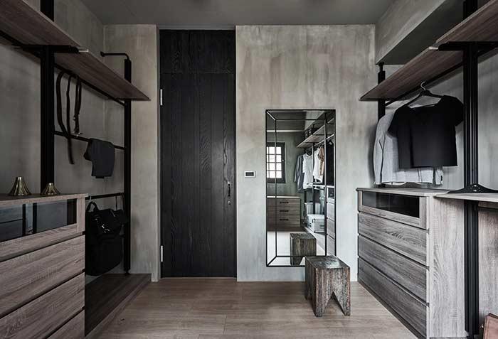 Decore o closet de forma diferente