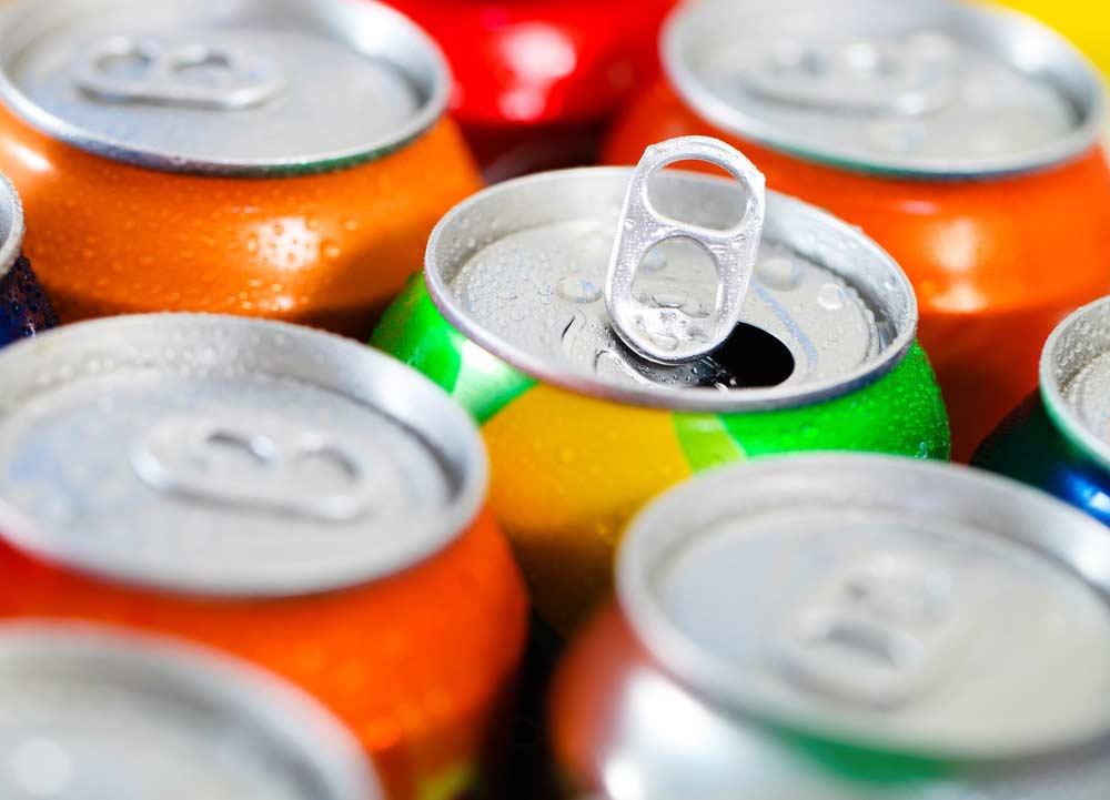 Refrigerantes diversos, inclusive soda