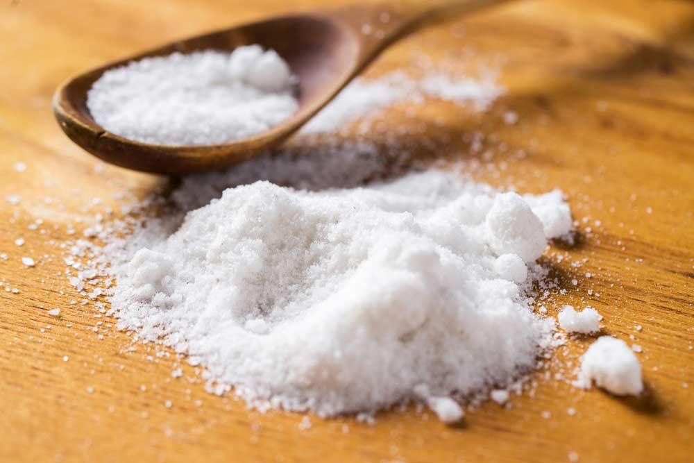 Colher com sal