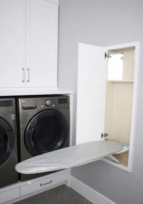 rea de servi o 55 ideias de decora o fotos e projetos. Black Bedroom Furniture Sets. Home Design Ideas