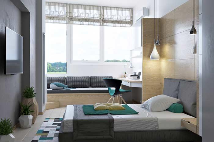Regule a altura para diferentes tipos de janelas