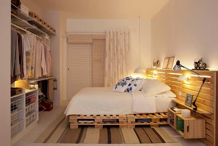 Persiana de bambu para quarto