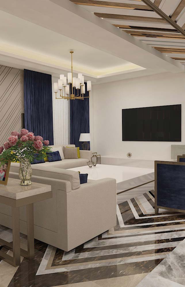 Lustre para uma sala mais clássica