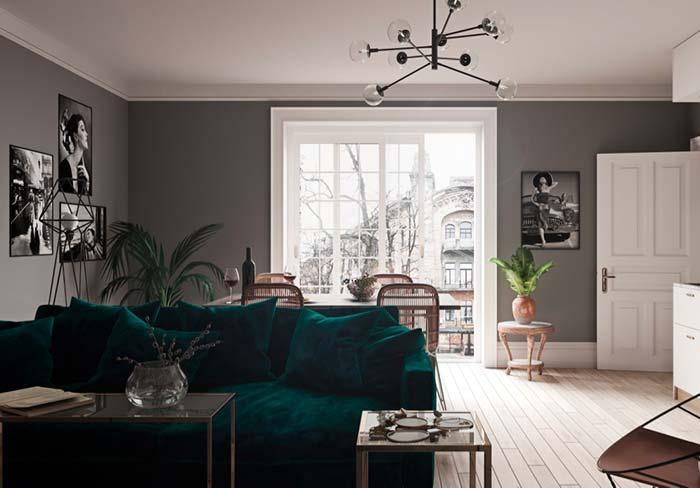 Lustre para sala com design sofisticado