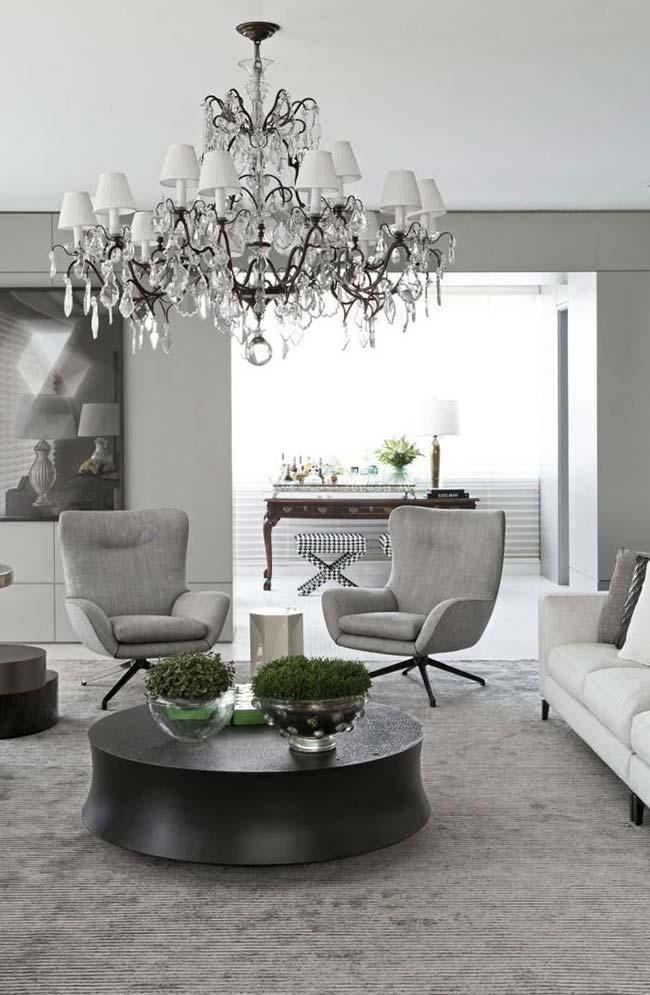 Mix de estilos na decoração: vintage e moderno