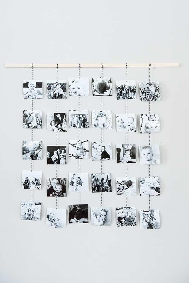 No modelo cortina de recordações