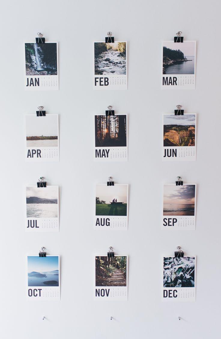 O seu próprio calendário com suas fotos preferidas