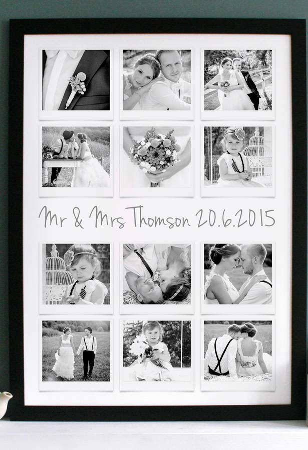 Revele as fotos preferidas do seu ensaio de casamento para colocar no painel