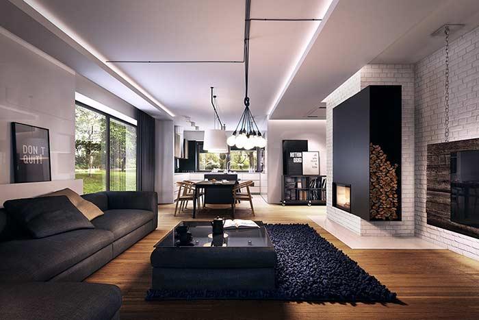 Mais leveza para residência com fitas de LED