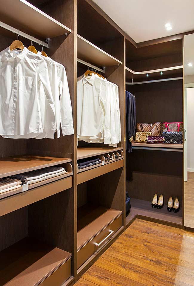 Móvel para closet planejado