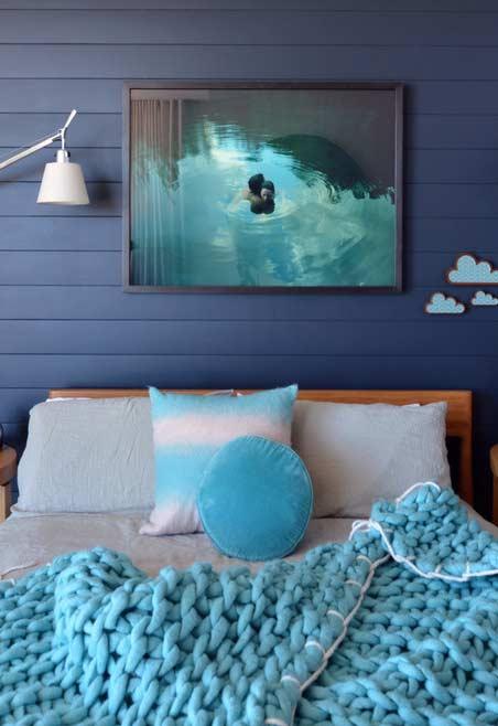 Azul turquesa chamativo