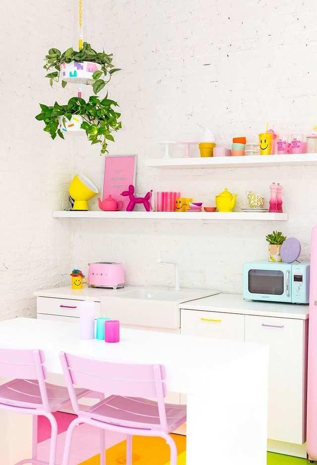Utilidades domésticas como decoração
