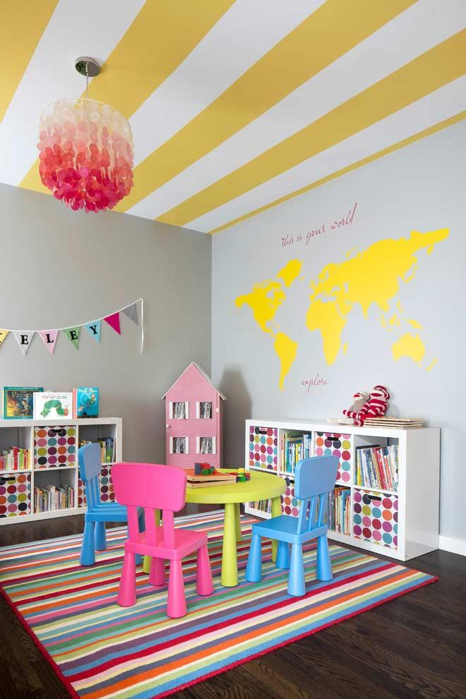 Sala de jogos para crianças
