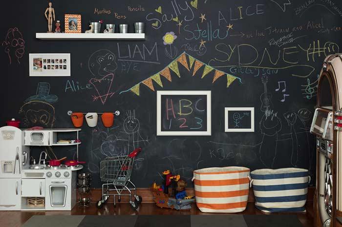 O sonho de toda a criança: ter sua própria cozinha