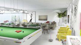 Sala de jogos: 60 ideias de decoração, fotos e projetos