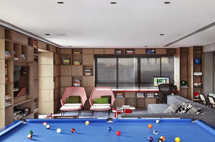 Sala de jogos em casa