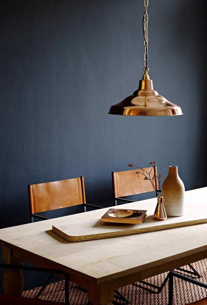 Arranjo de mesa minimalista