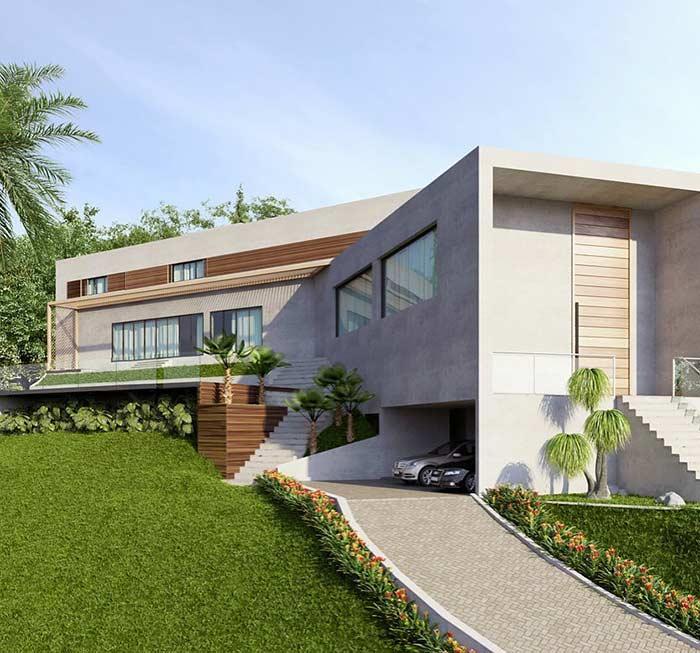 Casa linda e moderna