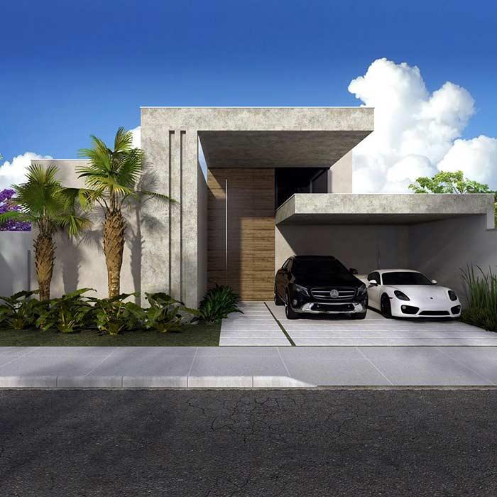 Casa linda concreto