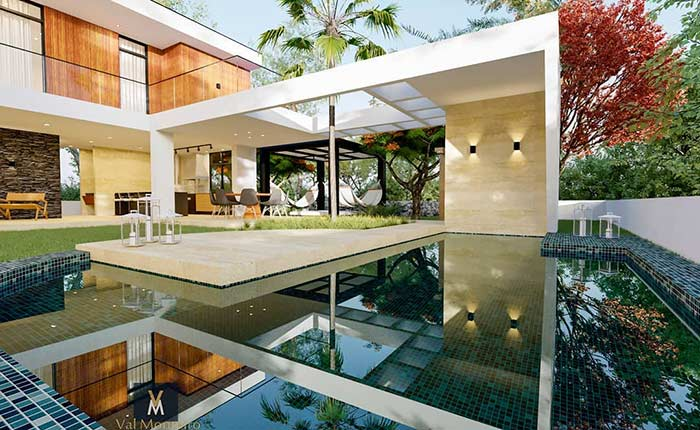 Casa linda com piscina