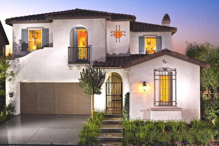 Leve o estilo para o restante da fachada