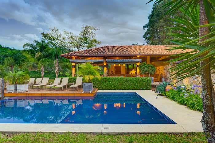 Opção perfeita para uma casa no campo