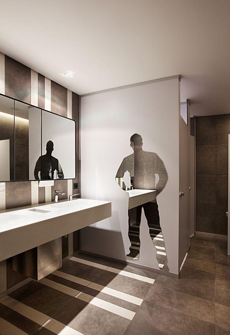 Banheiro masculino 60 ideias de decora o fotos e projetos for Best washroom design