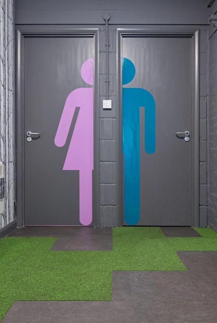 Diferenciação dos banheiros