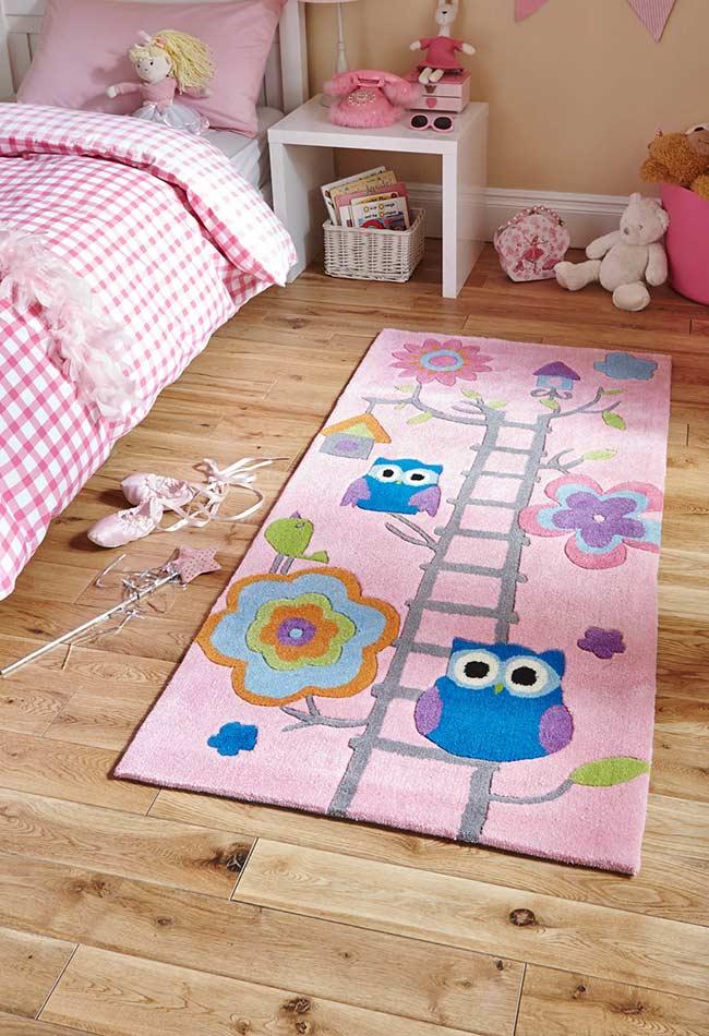 tapete para o quarto das crianças