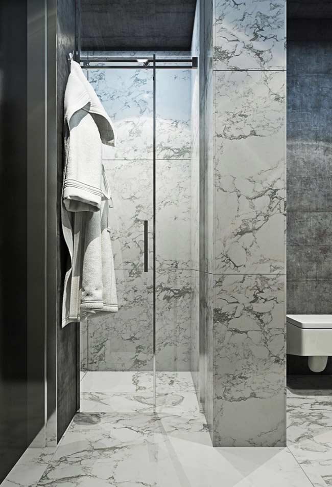 Outro banheiro baseado no mármore