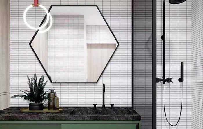 Banheiro masculino: 60 ideias de decoração com fotos e projetos