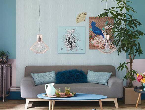 Sala azul: como decorar e compor com as tonalidades da cor