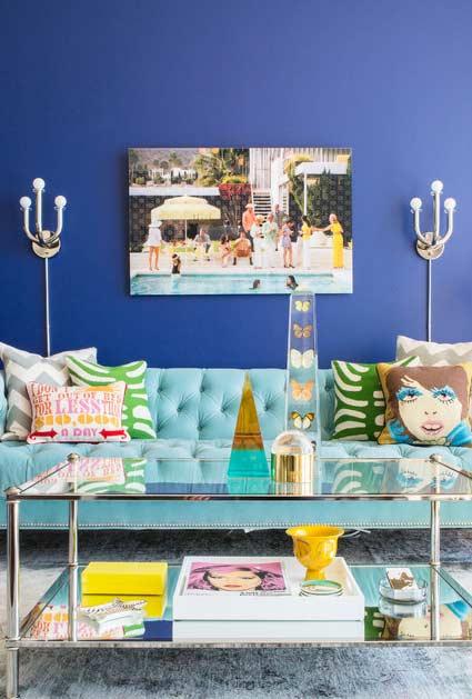 Azul royal para um ambiente mais urbano