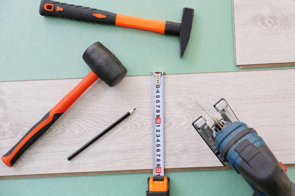 Como colocar piso laminado: materiais necessários