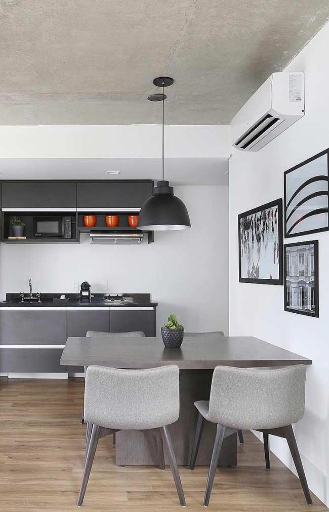 Quadros preto e branco para cozinha