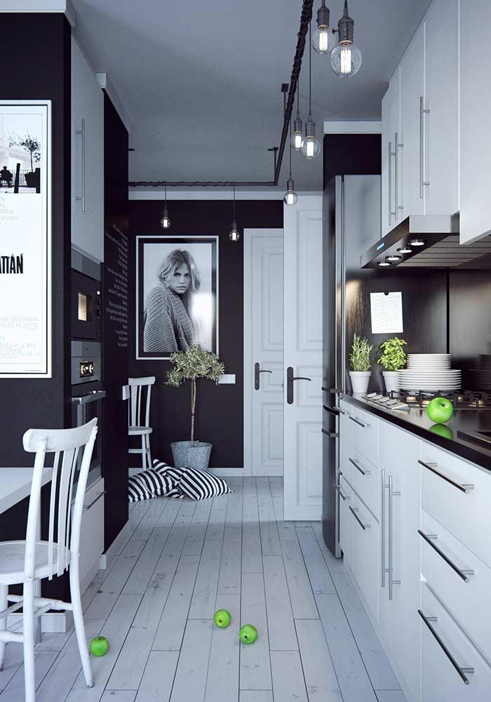 Quadro com foto para decorar a cozinha