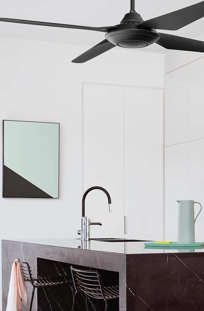 Quadro abstrato para cozinha minimalista