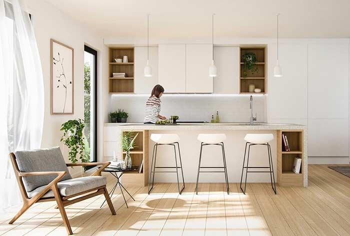 Quadro para cozinha que combina e harmoniza com o estilo de decoração do ambiente