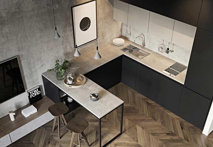 Quadro minimalista para cozinha