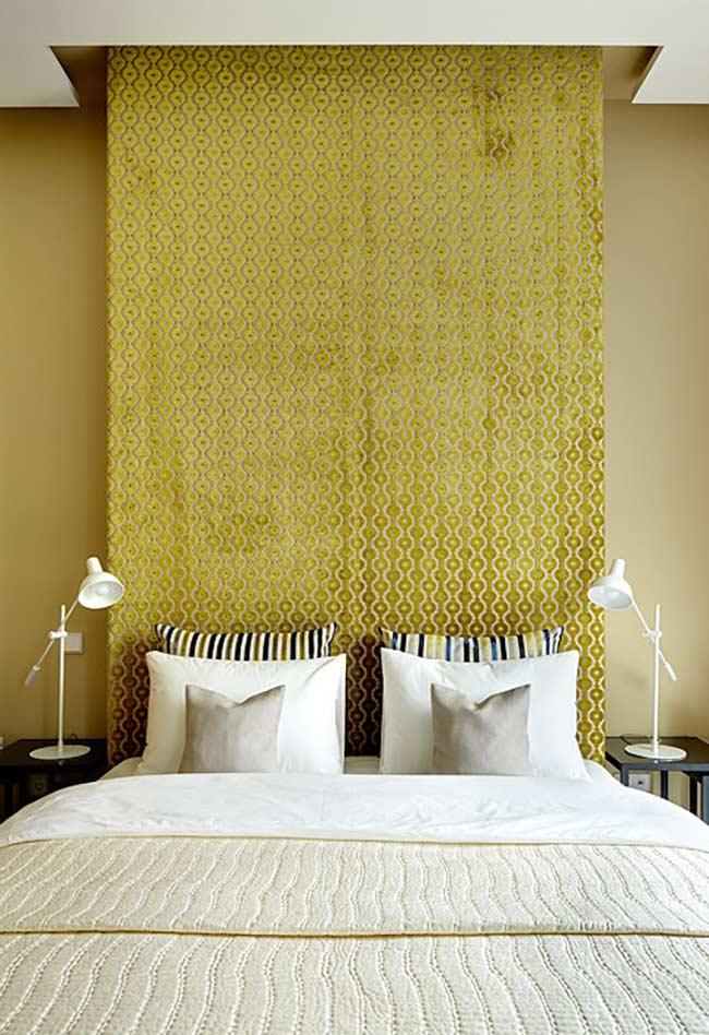 Amarelo dourado para um ambiente luxuoso
