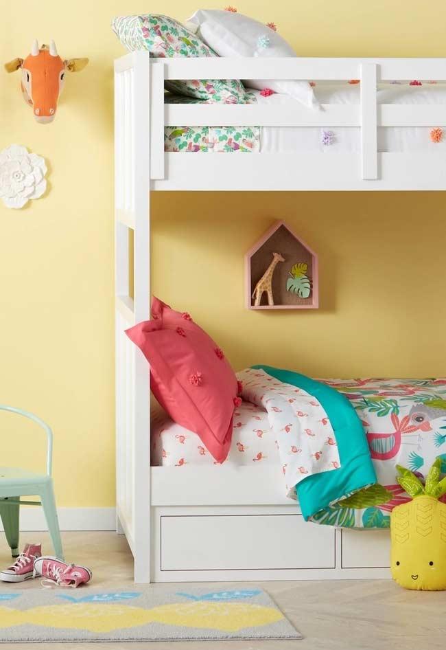 Amarelo claro para quarto de criança